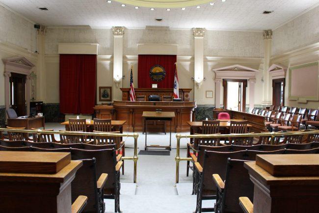 Courtroom Interior 3