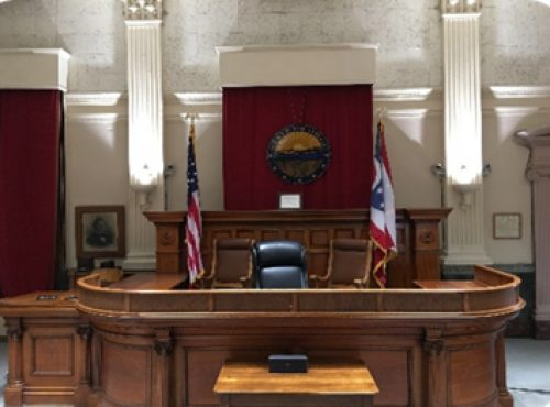 Judge's Bench, Main Courtroom